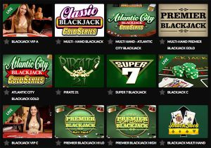 blackjack games online